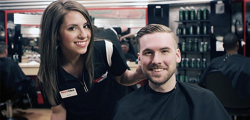 Sport Clips Haircuts of Meridian Crossroads​ stylist hair cut